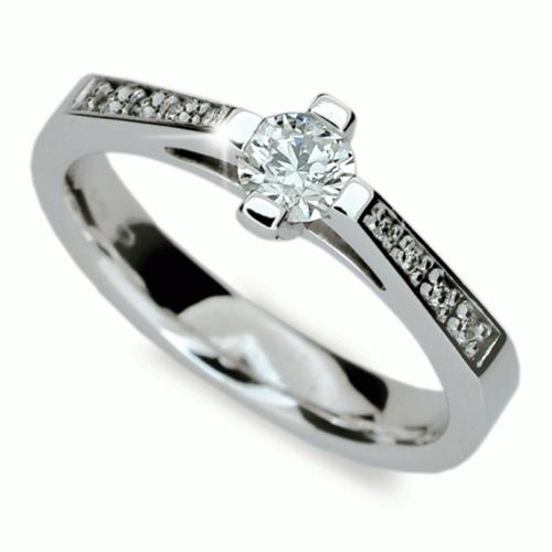 Briliantový prsten Danfil DF1962