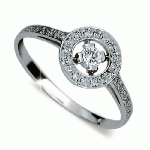 Briliantový prsten Danfil DF1990