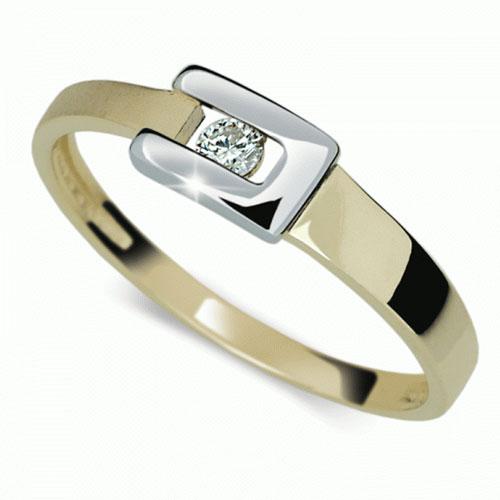 Prsten s briliantem Danfil DF2039Z