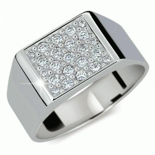 Prsten s brilianty Danfil DF2070