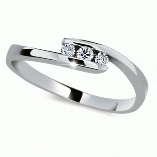Prsten s brilianty Danfil DF2072