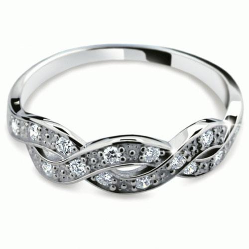 Prsten s brilianty Danfil DF2080