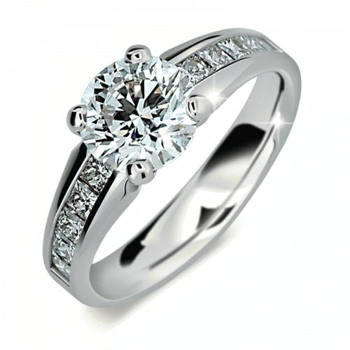 Briliantový prsten Danfil DF2088