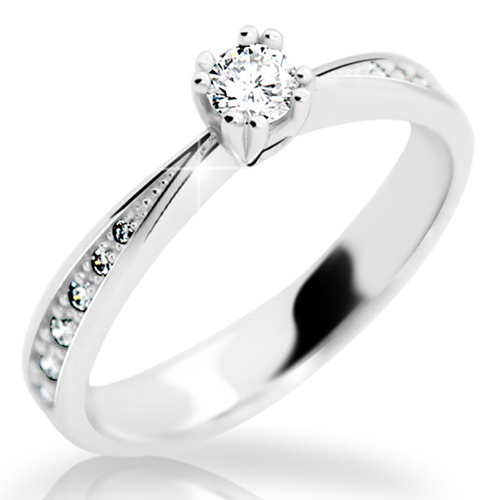 Prsten s brilianty Danfil DF2289
