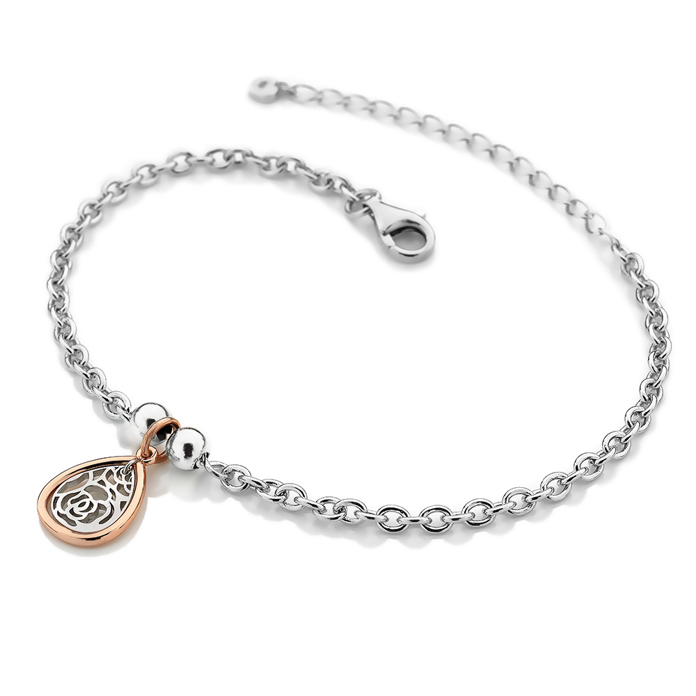 d33f413e8 Stříbrný náramek Hot Diamonds Luxury DL562 | Piercing-sperky.cz