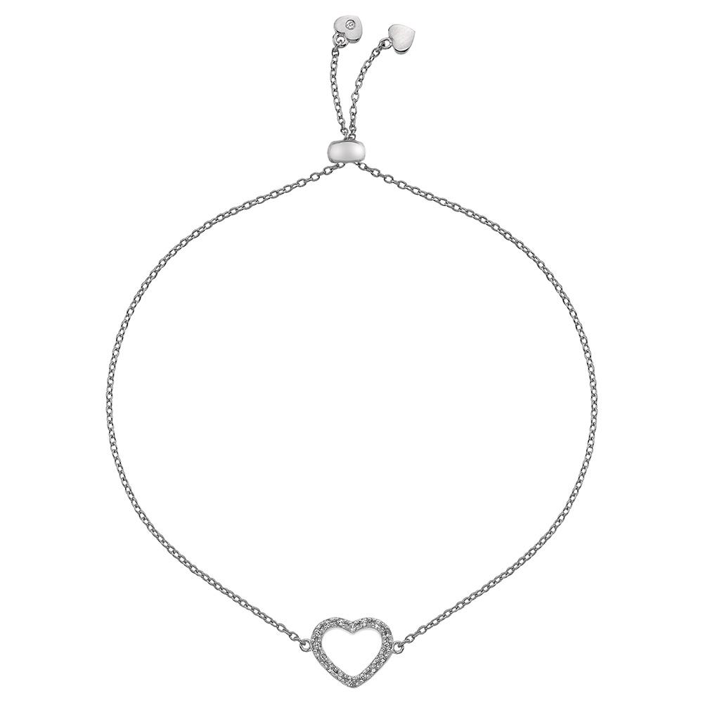 Støíbrný náramek Hot Diamonds Love DL567