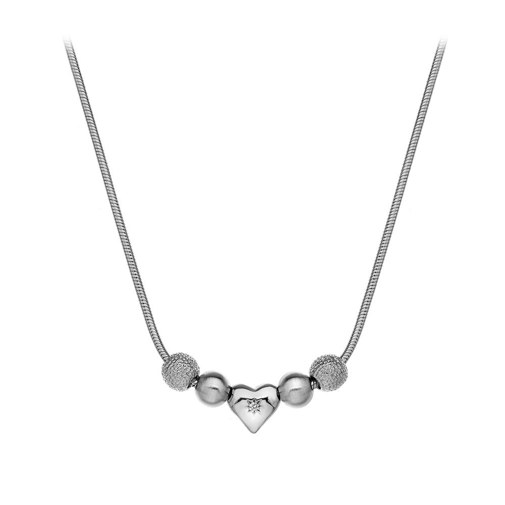 Støíbrný náhrdelník Hot Diamonds Trinket
