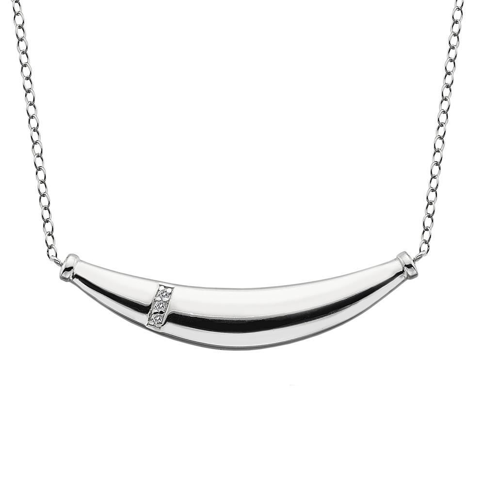 Støíbrný náhrdelník Hot Diamonds Belle