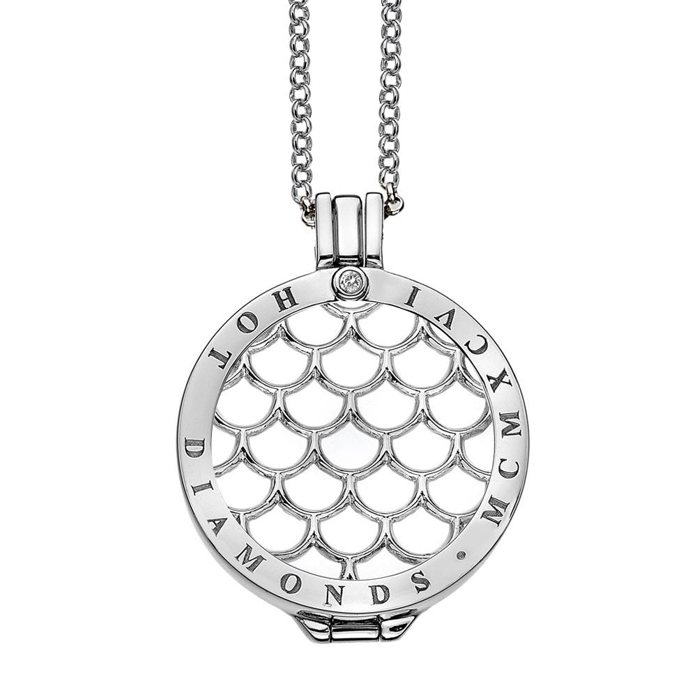 Støíbrný náhrdelník Hot Diamonds Emozioni DP450CH025EC055