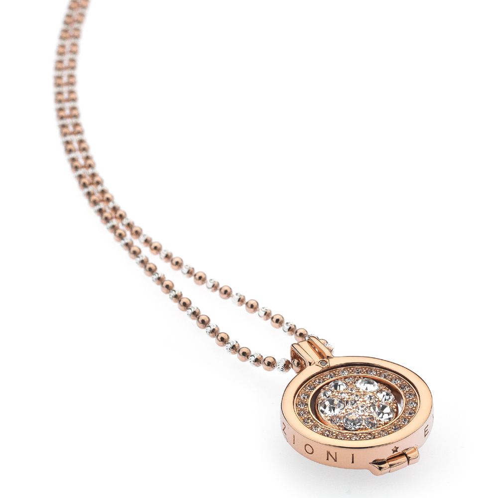 Støíbrný náhrdelník Hot Diamonds Emozioni DP485EC225CH019