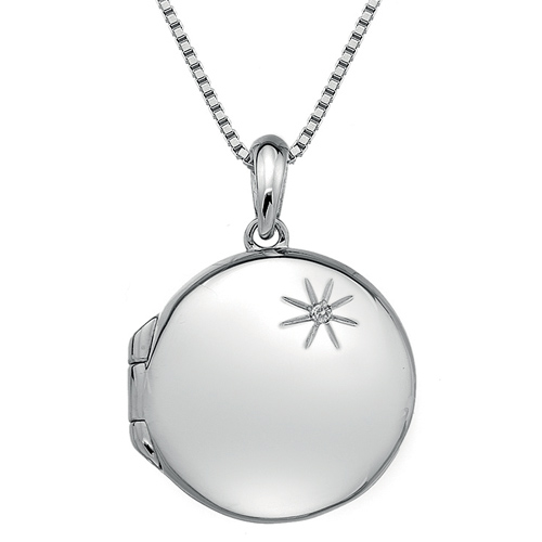 Støíbrný pøívìsek Hot Diamonds Memoirs Circle Locket
