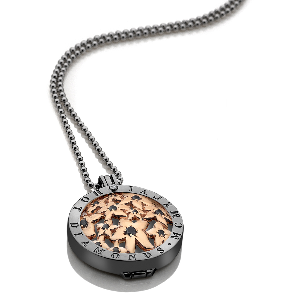Støíbrný náhrdelník Hot Diamonds Emozioni DP520CH016EC124