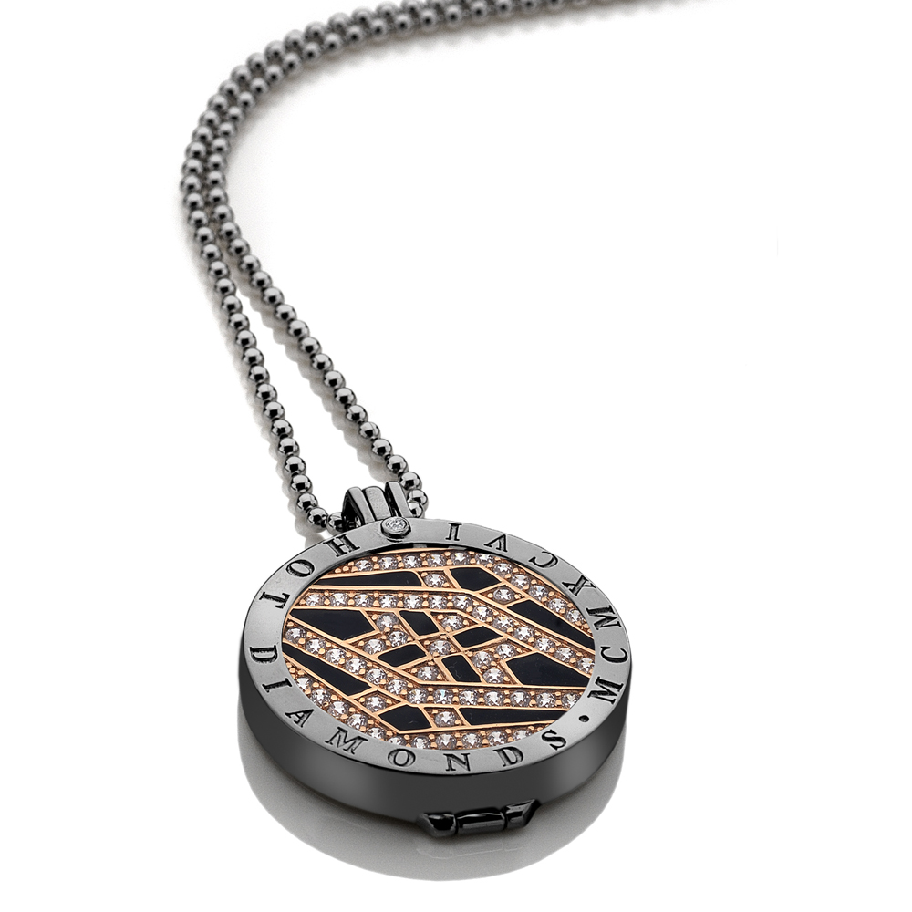 Støíbrný náhrdelník Hot Diamonds Emozioni DP520CH016EC133