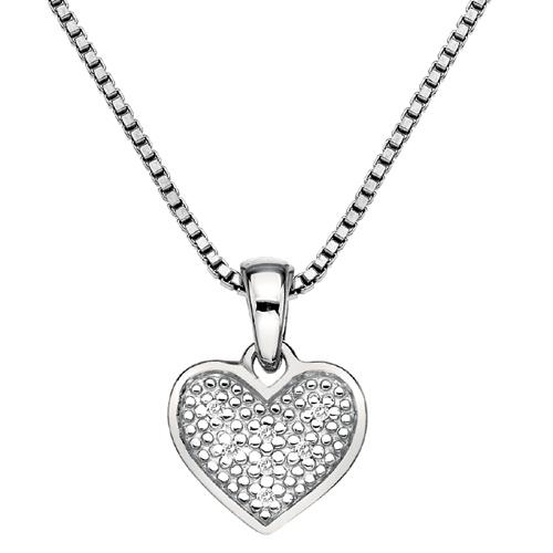 Přívěsek Hot Diamonds Stargazer Heart
