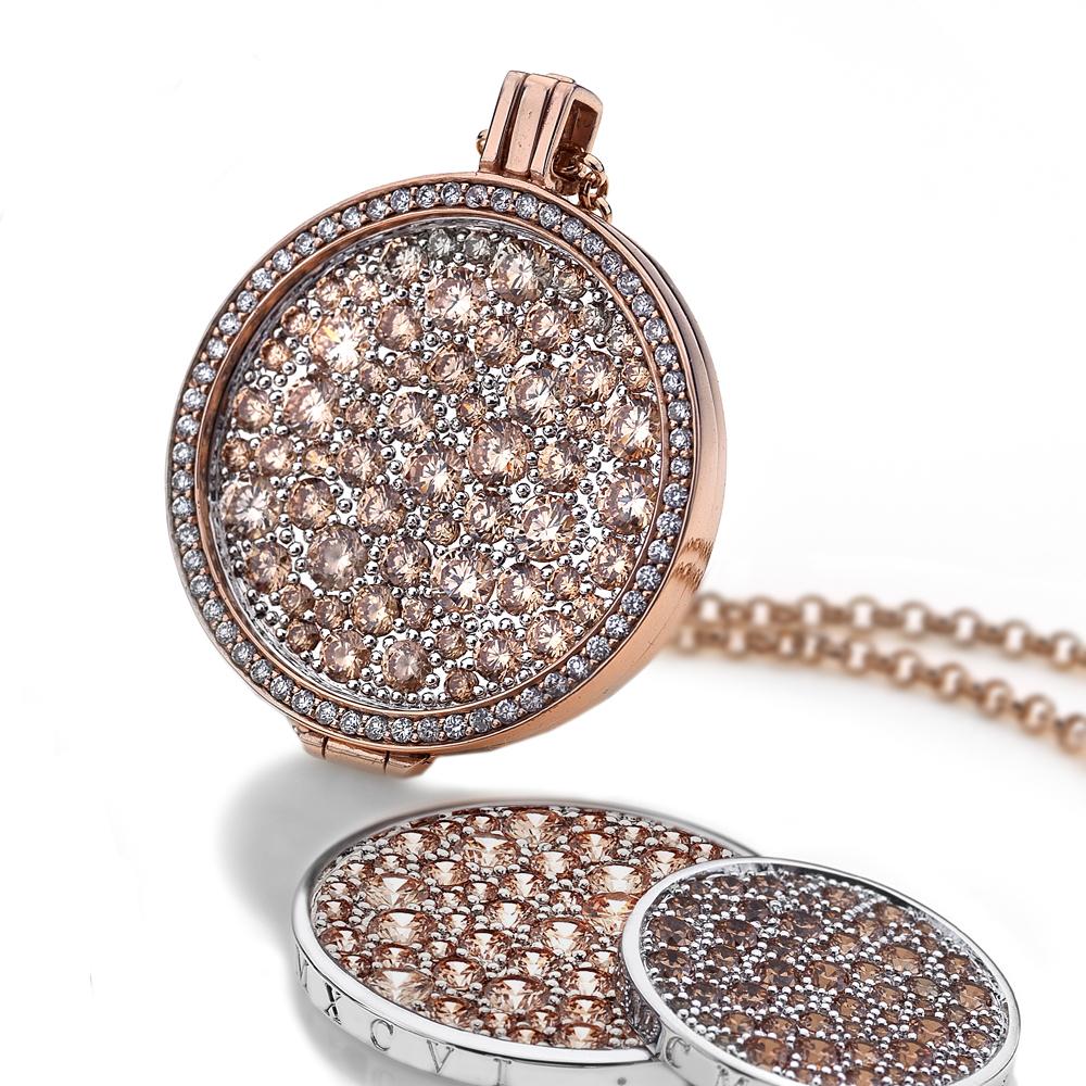 Støíbrný náhrdelník Hot Diamonds Emozioni DP556CH013EC170