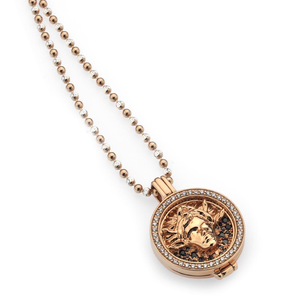 Støíbrný náhrdelník Hot Diamonds Emozioni DP556EC232CH019