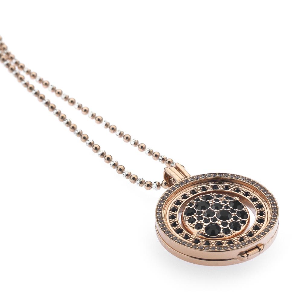 Støíbrný náhrdelník Hot Diamonds Emozioni DP557EC219CH019