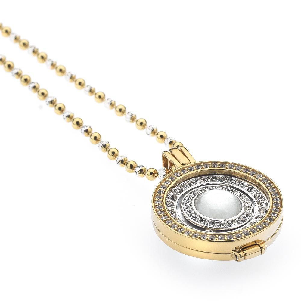 Støíbrný náhrdelník Hot Diamonds Emozioni DP558EC2431CH046