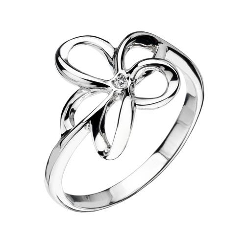 Stříbrný prsten Hot Diamonds Paradise DR092