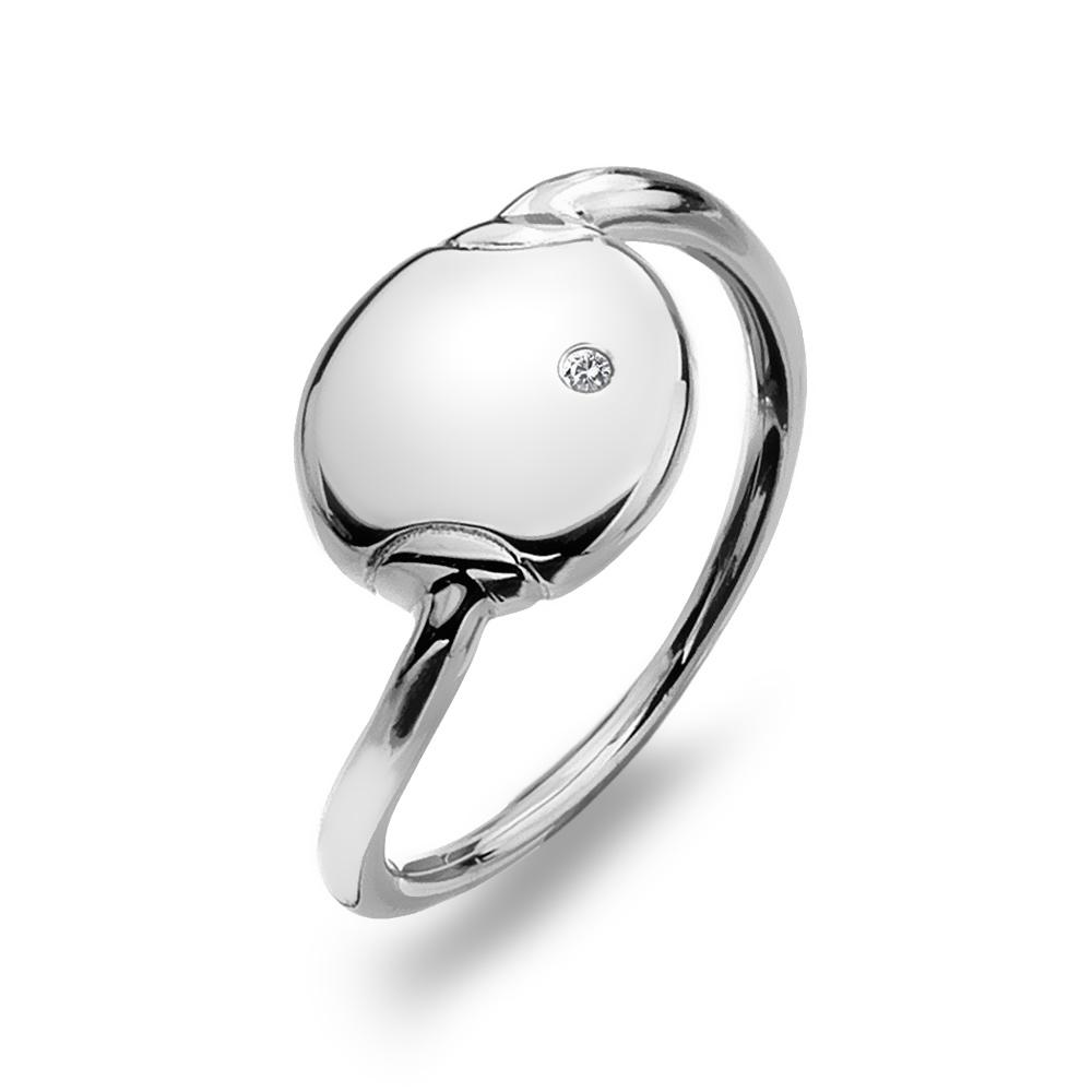 Støíbrný prsten Hot Diamonds Lunar