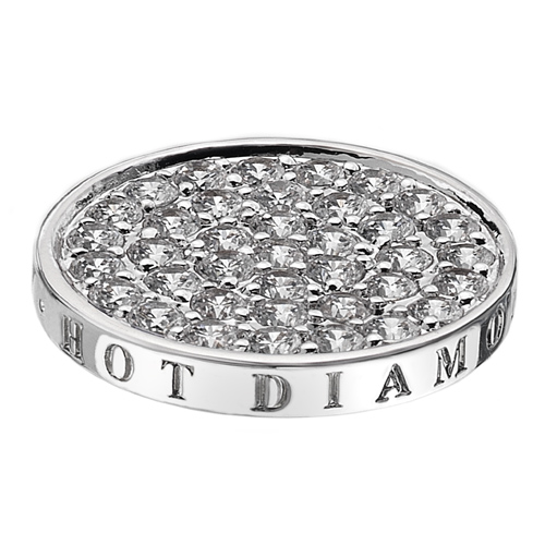 Pøívìsek Hot Diamonds Emozioni Ice Sparkle Coin