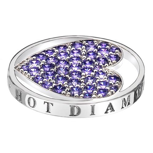 Pøívìsek Hot Diamonds Emozioni Fantasy Sparkle Heart Mirage Coin