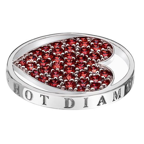 Přívěsek Hot Diamonds Emozioni Fire Sparkle Heart Mirage Coin