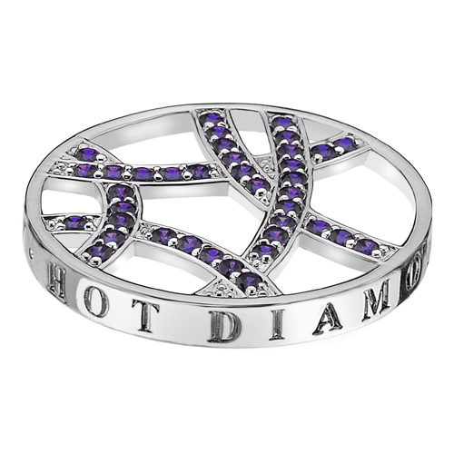 Pøívìsek Hot Diamonds Emozioni Fantasy Sparkle Arc Coin