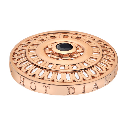 Pøívìsek Hot Diamonds Emozioni Roman Rose Gold Coin