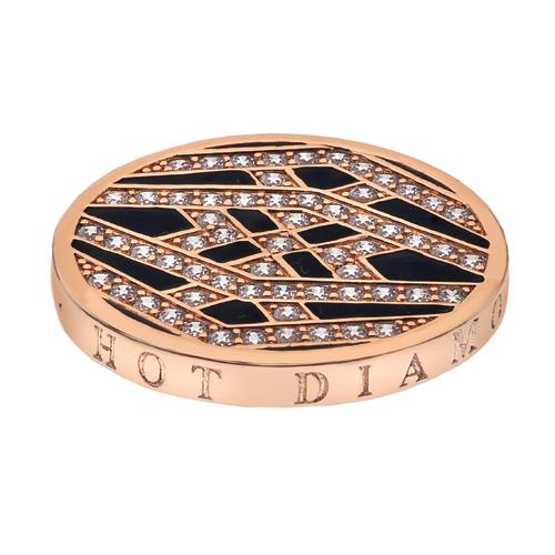 Přívěsek Hot Diamonds Emozioni Art Deco Classic Rose Coin