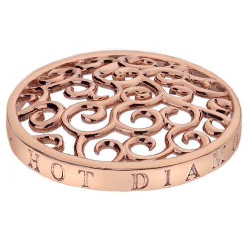 Pøívìsek Hot Diamonds Emozioni Winding Path RG Coin
