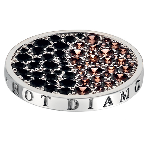 Pøívìsek Hot Diamonds Emozioni Corrente Brown Coin