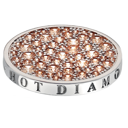 Přívěsek Hot Diamonds Emozioni Scintilla Champagne Loyalty Coin