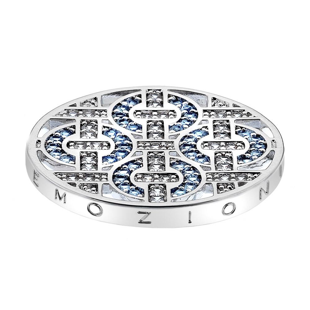 Přívěsek Hot Diamonds Emozioni Telaio Azure Coin