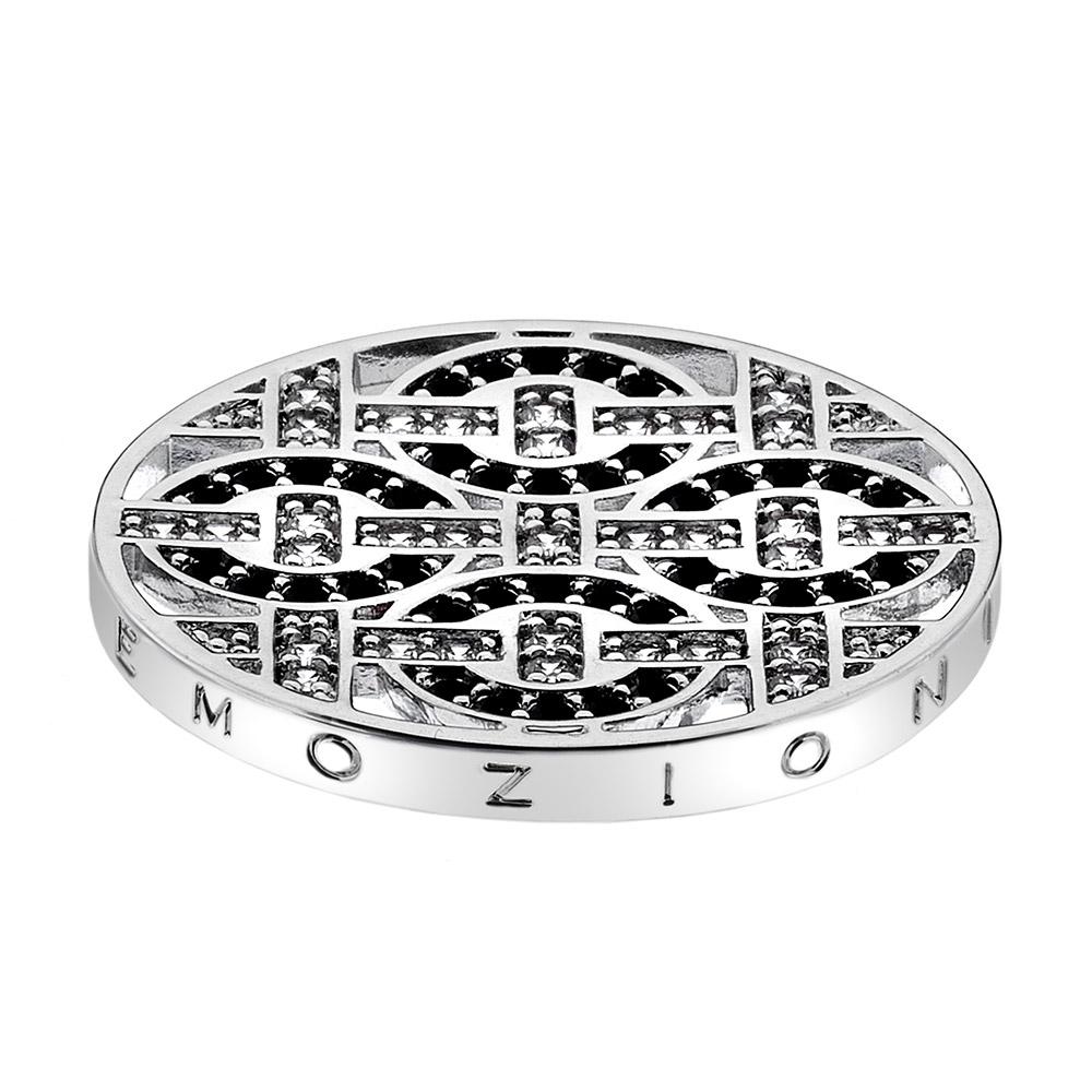 Pøívìsek Hot Diamonds Emozioni Telaio Black Coin