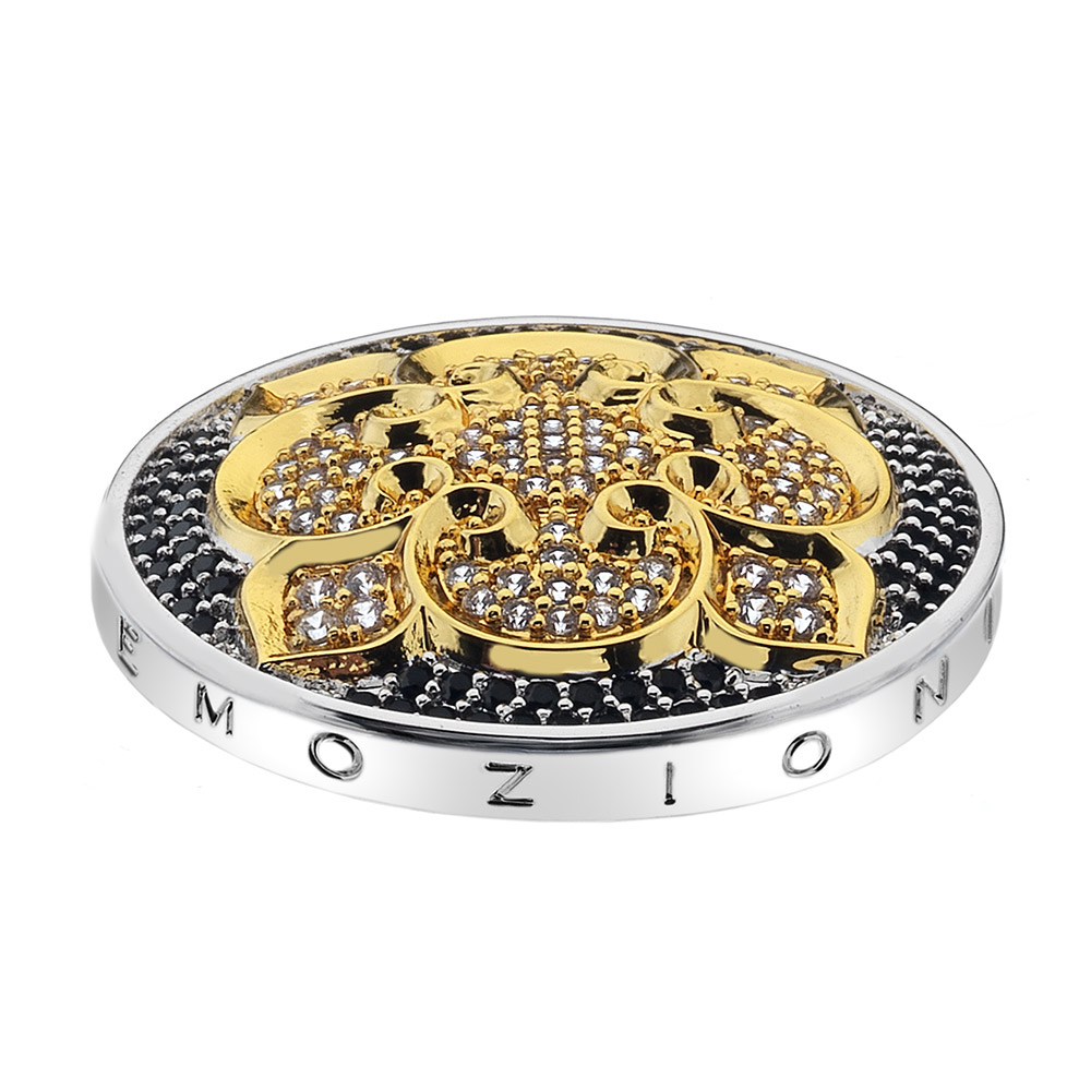 Pøívìsek Hot Diamonds Emozioni Fiore di Loto Gold Coin