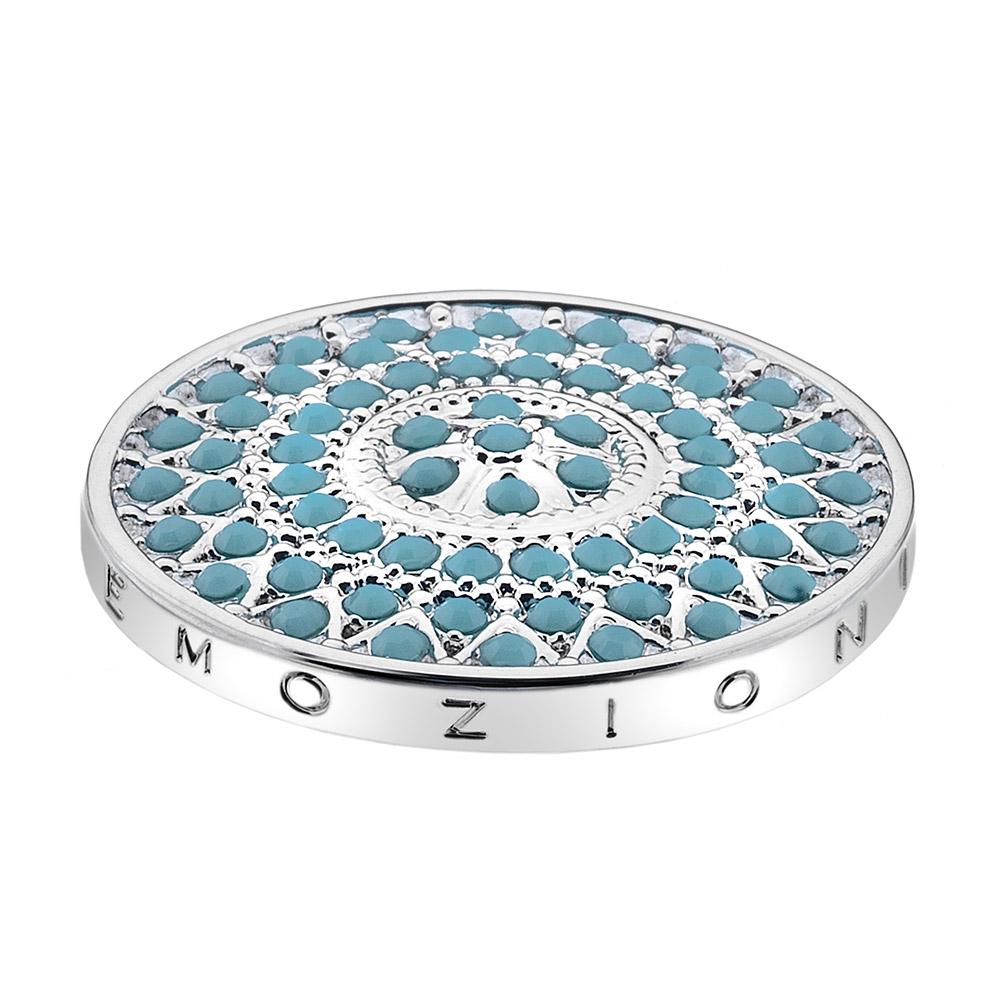 Pøívìsek Hot Diamonds Emozioni Prisma Turquoise Coin