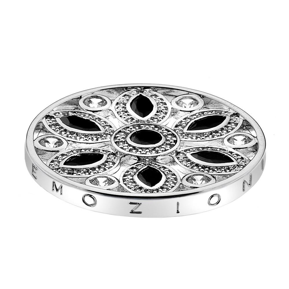 Přívěsek Hot Diamonds Emozioni Girasole Black Coin