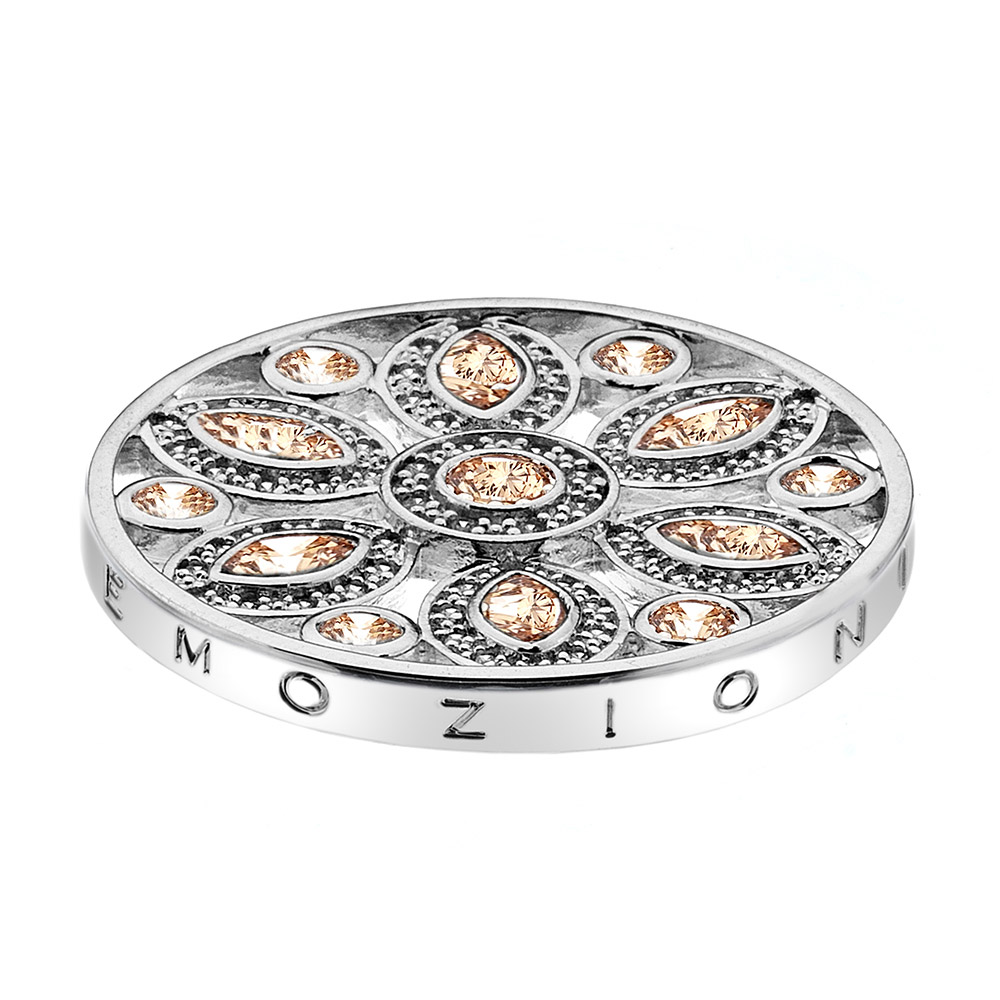 Pøívìsek Hot Diamonds Emozioni Girasole Champagne Coin