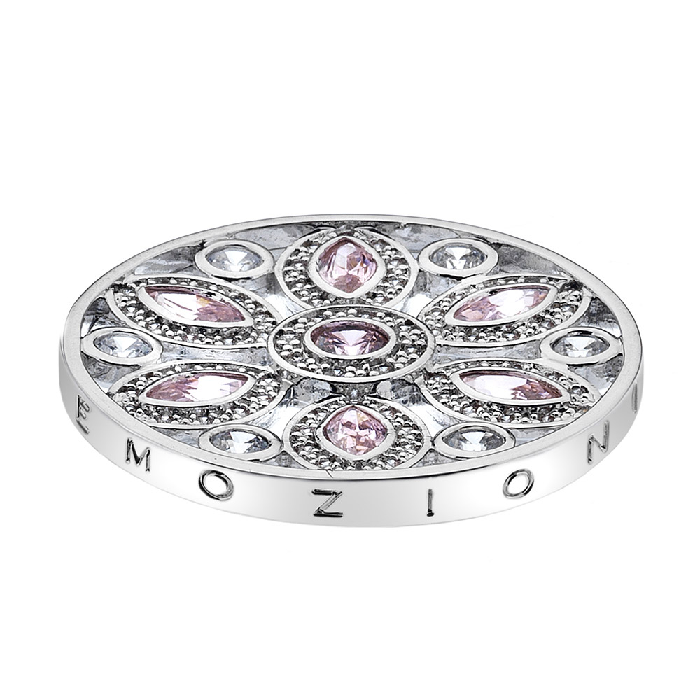 Pøívìsek Hot Diamonds Emozioni Girasole Pink Coin