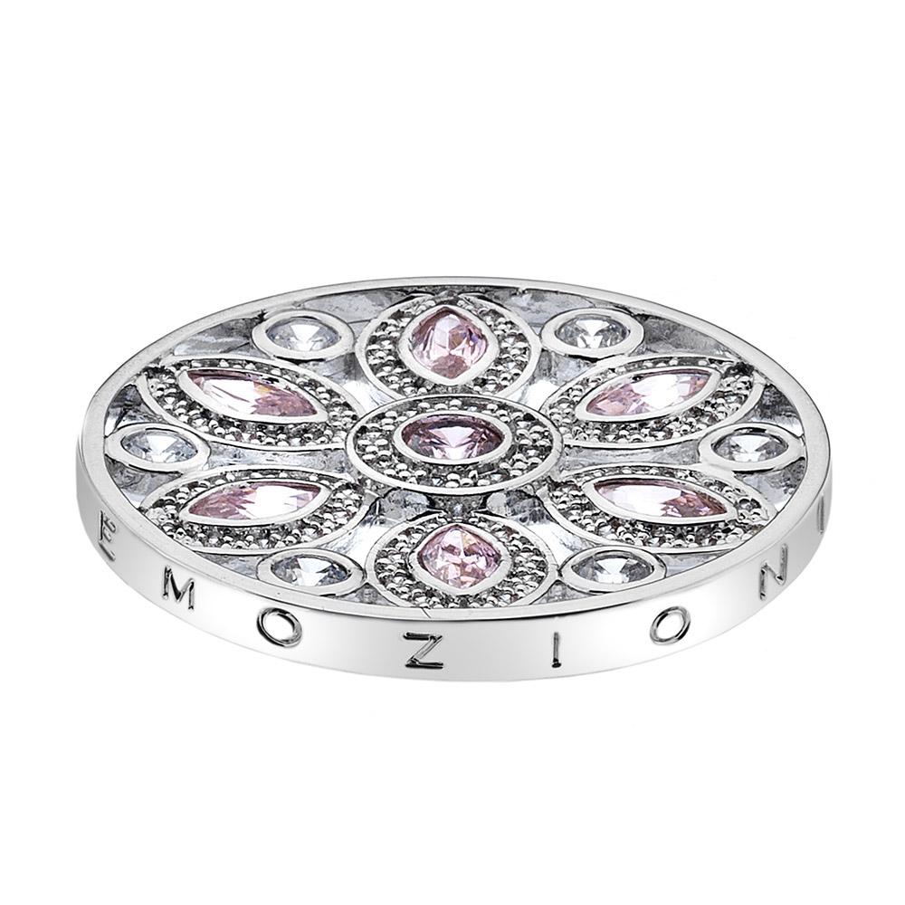 Přívěsek Hot Diamonds Emozioni Girasole Pink Coin