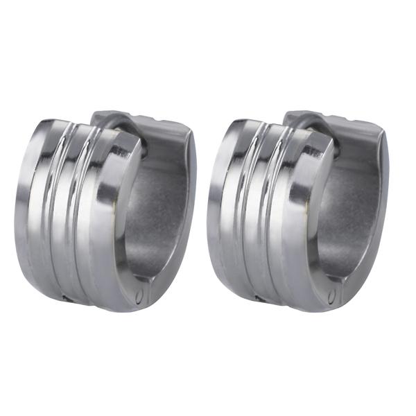 Náušnice z chirurgické oceli ESS386-STEEL