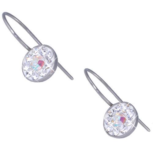 Náušnice s krystaly Swarovski ESSW08-CZAB
