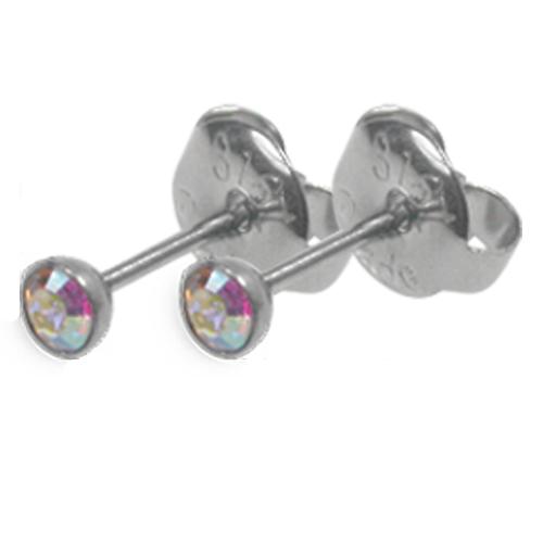 Náušnice s krystaly Swarovski ESSW09-CZAB