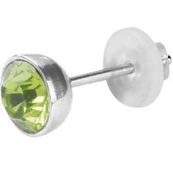 Náušnice s krystaly Swarovski ESSW11-PERIDOT