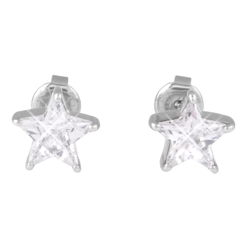 Náušnice s krystaly Swarovski ESSW16-CZ