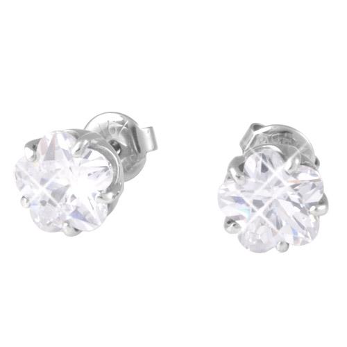 Náušnice s krystaly Swarovski ESSW18-CZ