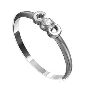 Zásnubní prsten s briliantem Leonka  009