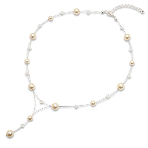 Náhrdelník s perlami Sunny Pearl Light Gold II