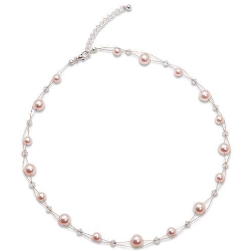Náhrdelník s perlami Sunny Pearl Rosaline